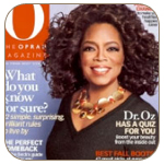 "O,The Oprah Magazine – Erica Courtney featured in an article entitled ""Tomorrow's Leaders""."